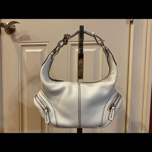 TODS MINI HOBO LEATHER PURSE  BAG *Mint